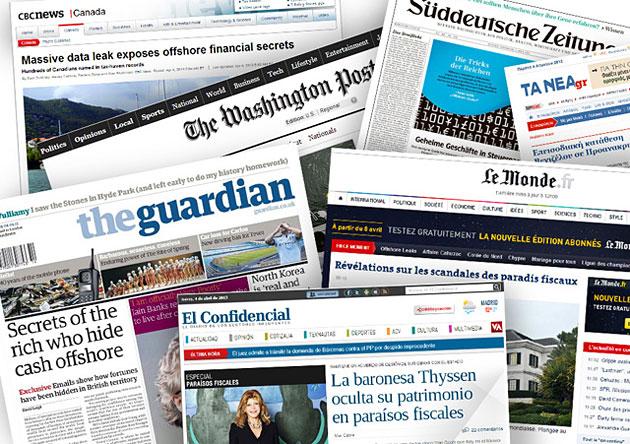 Báo chí trong mạng lưới ICIJ đưa tin về vụ tiết lộ thông tin