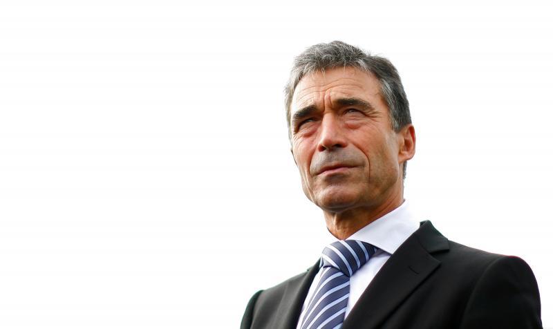 Rasmussen tại trụ sở Liên Hiệp Quốc năm 2011. (Eric Thayer / Reuters)