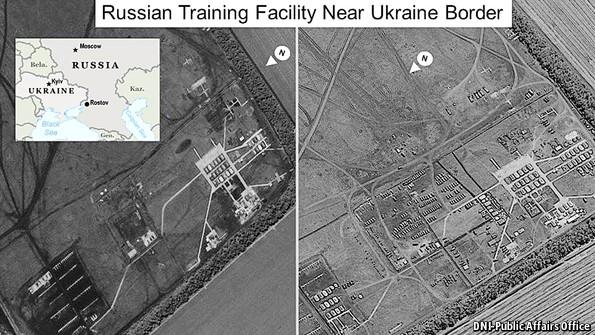 Một bằng chứng khác: cơ sở huấn luyện đang mở rộng gần Rostov, gần biên giới Ukraine.